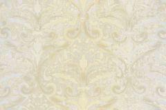 4423 cikkszámú tapéta.Barokk-klasszikus,textil hatású,barna,bézs-drapp,súrolható,vlies tapéta