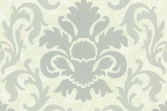 13343-30 cikkszámú tapéta.Barokk-klasszikus,csillámos,fehér,szürke,lemosható,vlies tapéta