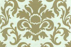 13343-70 cikkszámú tapéta.Barokk-klasszikus,csillámos,arany,fehér,lemosható,vlies tapéta