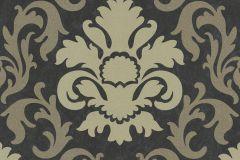 13343-90 cikkszámú tapéta.Barokk-klasszikus,csillámos,arany,barna,fekete,gyöngyház,lemosható,vlies tapéta