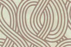 13345-40 cikkszámú tapéta.3d hatású,absztrakt,csillámos,geometriai mintás,bronz,vajszínű,lemosható,vlies tapéta