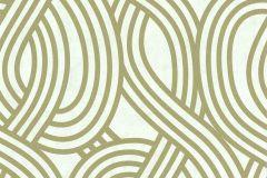 13345-60 cikkszámú tapéta.3d hatású,absztrakt,csillámos,geometriai mintás,arany,fehér,gyöngyház,lemosható,vlies tapéta