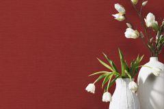 02505-20 cikkszámú tapéta.Egyszínű,különleges felületű,piros-bordó,súrolható,illesztés mentes,vlies tapéta