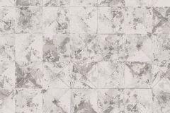 42501-20 cikkszámú tapéta.Absztrakt,geometriai mintás,különleges felületű,különleges motívumos,ezüst,szürke,súrolható,vlies tapéta