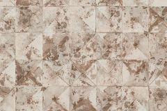 42501-40 cikkszámú tapéta.Absztrakt,geometriai mintás,különleges felületű,különleges motívumos,barna,bézs-drapp,súrolható,vlies tapéta