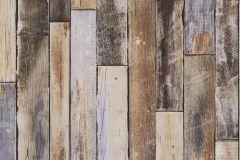 42504-20 cikkszámú tapéta.Fa hatású-fa mintás,különleges felületű,különleges motívumos,retro,barna,bézs-drapp,kék,szürke,súrolható,vlies tapéta