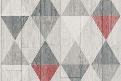 42505-20 cikkszámú tapéta.Fa hatású-fa mintás,geometriai mintás,különleges felületű,különleges motívumos,retro,piros-bordó,szürke,súrolható,illesztés mentes,vlies tapéta