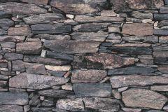 42508-10 cikkszámú tapéta.Kőhatású-kőmintás,különleges felületű,retro,barna,kék,narancs-terrakotta,súrolható,vlies tapéta