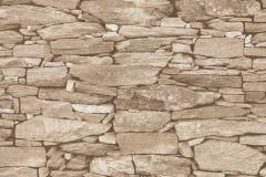 42508-40 cikkszámú tapéta.Kőhatású-kőmintás,különleges felületű,retro,bézs-drapp,vajszín,súrolható,vlies tapéta
