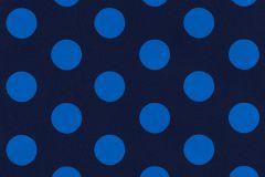 05213-50 cikkszámú tapéta.Gyerek,különleges motívumos,pöttyös,retro,kék,gyengén mosható,papír tapéta