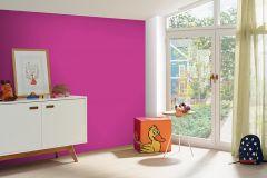 05217-30 cikkszámú tapéta.Egyszínű,gyerek,különleges felületű,pink-rózsaszín,gyengén mosható,illesztés mentes,papír tapéta