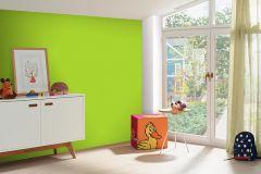 05217-40 cikkszámú tapéta.Egyszínű,gyerek,különleges felületű,zöld,gyengén mosható,illesztés mentes,papír tapéta