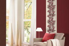 02383-90 cikkszámú tapéta.Csíkos,dekor tapéta ,egyszínű,különleges felületű,retro,textil hatású,piros-bordó,súrolható,illesztés mentes,vlies tapéta