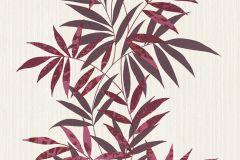 02386-00 cikkszámú tapéta.Csíkos,dekor tapéta ,különleges felületű,különleges motívumos,rajzolt,retro,természeti mintás,textil hatású,virágmintás,bézs-drapp,pink-rózsaszín,piros-bordó,súrolható,illesztés mentes,vlies tapéta