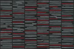 13384-10 cikkszámú tapéta.Absztrakt,csíkos,dekor tapéta ,különleges felületű,különleges motívumos,rajzolt,retro,textil hatású,fekete,piros-bordó,szürke,lemosható,illesztés mentes,vlies tapéta
