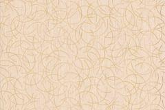 13527-50 cikkszámú tapéta.Csíkos,csillámos,dekor tapéta ,különleges felületű,különleges motívumos,rajzolt,retro,természeti mintás,textil hatású,bézs-drapp,lemosható,vlies tapéta