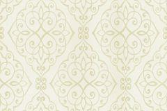 20321-30 cikkszámú tapéta.Barokk-klasszikus,különleges felületű,különleges motívumos,retro,sárga,vajszín,súrolható,papír tapéta