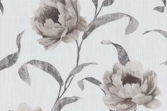 42123-40 cikkszámú tapéta.Metál-fényes,rajzolt,természeti mintás,virágmintás,különleges felületű,barna,bézs-drapp,ezüst,szürke,súrolható,vlies tapéta