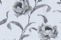 42123-50 cikkszámú tapéta.Különleges felületű,metál-fényes,rajzolt,természeti mintás,virágmintás,bronz,ezüst,szürke,súrolható,vlies tapéta