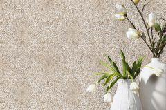 02481-30 cikkszámú tapéta.Különleges felületű,különleges motívumos,virágmintás,bézs-drapp,bronz,piros-bordó,súrolható,vlies tapéta