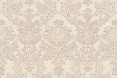 02485-20 cikkszámú tapéta.Barokk-klasszikus,csillámos,különleges felületű,különleges motívumos,metál-fényes,retro,bézs-drapp,súrolható,vlies tapéta