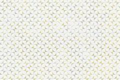 13566-50 cikkszámú tapéta.Absztrakt,különleges felületű,különleges motívumos,fehér,szürke,zöld,lemosható,vlies tapéta