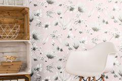 13567-20 cikkszámú tapéta.Különleges felületű,természeti mintás,virágmintás,pink-rózsaszín,szürke,lemosható,vlies tapéta