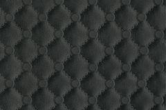 42513-10 cikkszámú tapéta.3d hatású,bőr hatású,különleges felületű,különleges motívumos,ezüst,fekete,súrolható,vlies tapéta