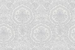 13481-30 cikkszámú tapéta.Barokk-klasszikus,ezüst,fehér,szürke,lemosható,vlies tapéta