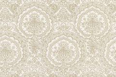 13481-40 cikkszámú tapéta.Barokk-klasszikus,arany,barna,fehér,lemosható,vlies tapéta