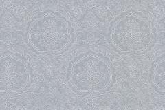 13481-60 cikkszámú tapéta.Barokk-klasszikus,fehér,kék,szürke,lemosható,vlies tapéta