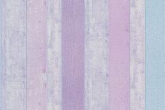 05567-20 cikkszámú tapéta.Csíkos,fa hatású-fa mintás,retro,kék,lila,pink-rózsaszín,szürke,gyengén mosható,illesztés mentes,papír tapéta