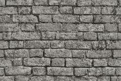 05591-10 cikkszámú tapéta.Kőhatású-kőmintás,fekete,szürke,gyengén mosható,papír tapéta