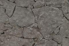 05592-20 cikkszámú tapéta.Fotórealisztikus,kőhatású-kőmintás,fekete,szürke,gyengén mosható,papír tapéta