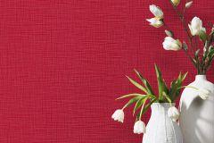 13082-00 cikkszámú tapéta.Egyszínű,különleges felületű,piros-bordó,lemosható,illesztés mentes,vlies tapéta