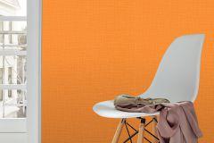 13461-50 cikkszámú tapéta.Egyszínű,különleges felületű,narancs-terrakotta,  tapéta