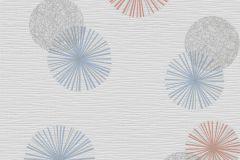 13584-30 cikkszámú tapéta.Különleges felületű,különleges motívumos,retro,kék,piros-bordó,szürke,lemosható,illesztés mentes,vlies tapéta