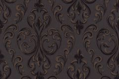 085081 cikkszámú tapéta.Barokk-klasszikus,valódi textil,barna,bronz,fekete,szürke,vlies tapéta