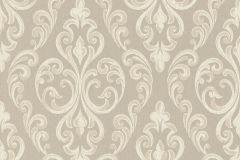 085104 cikkszámú tapéta.Barokk-klasszikus,valódi textil,bézs-drapp,vajszín,vlies tapéta
