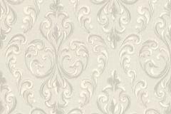 085135 cikkszámú tapéta.Barokk-klasszikus,valódi textil,ezüst,szürke,vlies tapéta