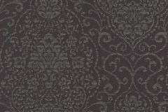 085166 cikkszámú tapéta.Barokk-klasszikus,valódi textil,lila,szürke,vlies tapéta
