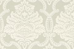 085197 cikkszámú tapéta.Barokk-klasszikus,valódi textil,ezüst,szürke,vlies tapéta