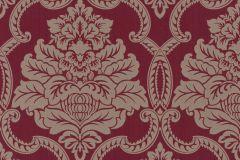 085241 cikkszámú tapéta.Barokk-klasszikus,valódi textil,bézs-drapp,piros-bordó,vlies tapéta