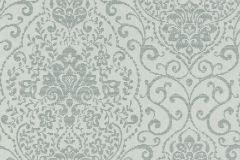 085272 cikkszámú tapéta.Barokk-klasszikus,valódi textil,ezüst,szürke,vlies tapéta