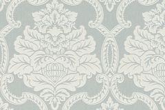 085302 cikkszámú tapéta.Barokk-klasszikus,valódi textil,ezüst,szürke,vlies tapéta