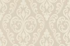 085449 cikkszámú tapéta.Barokk-klasszikus,valódi textil,bézs-drapp,vajszín,vlies tapéta