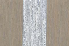 074375 cikkszámú tapéta.Csíkos,valódi textil,kék,barna,illesztés mentes,vlies  tapéta