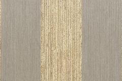 074382 cikkszámú tapéta.Csíkos,valódi textil,barna,bézs-drapp,illesztés mentes,vlies  tapéta