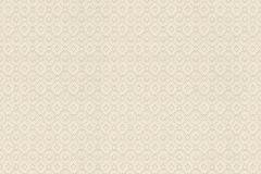 073569 cikkszámú tapéta.Geometriai mintás,vajszínű,vlies  tapéta