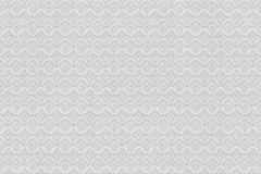 073606 cikkszámú tapéta.Geometriai mintás,fehér,szürke,vlies  tapéta
